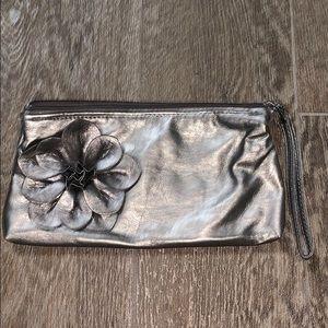 New Sephora Flower Makeup Clutch Purse Bag